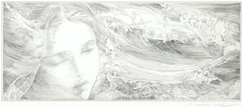 門坂流「波の音」