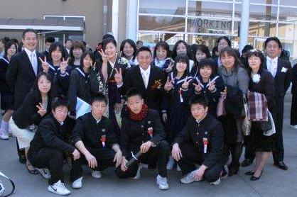 中学校 岩舟